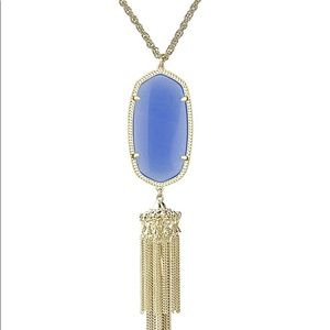 Kendra Scott Rayne Necklace in Periwinkle
